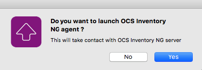 OCS MacOSX agent 2 X documentation - OCS Inventory Documentation