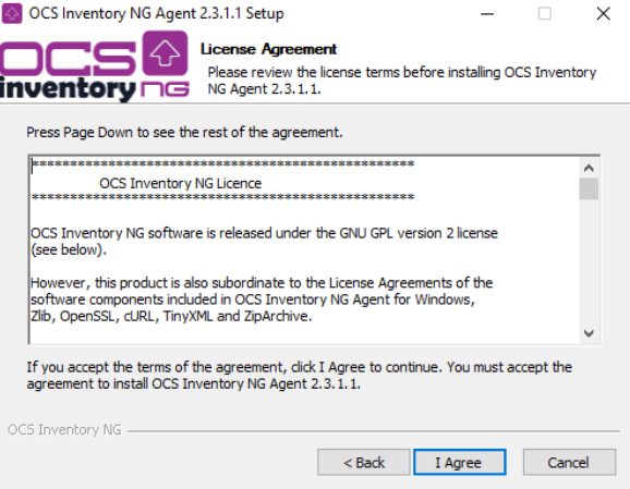 Using local proxy cache to deploy on remote network - OCS