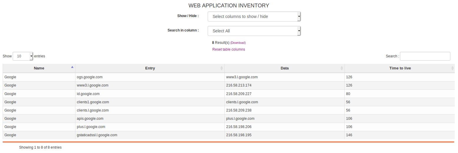 Managing SAAS Inventory - OCS Inventory Documentation