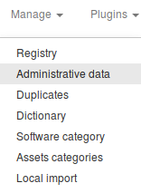 Administrative Data Access