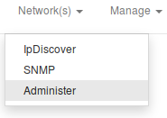 Manage SNMP communities access