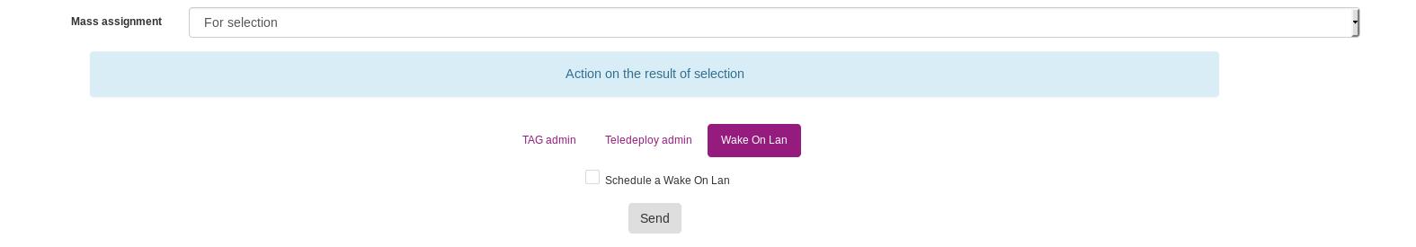 Using Wake On Lan - OCS Inventory Documentation